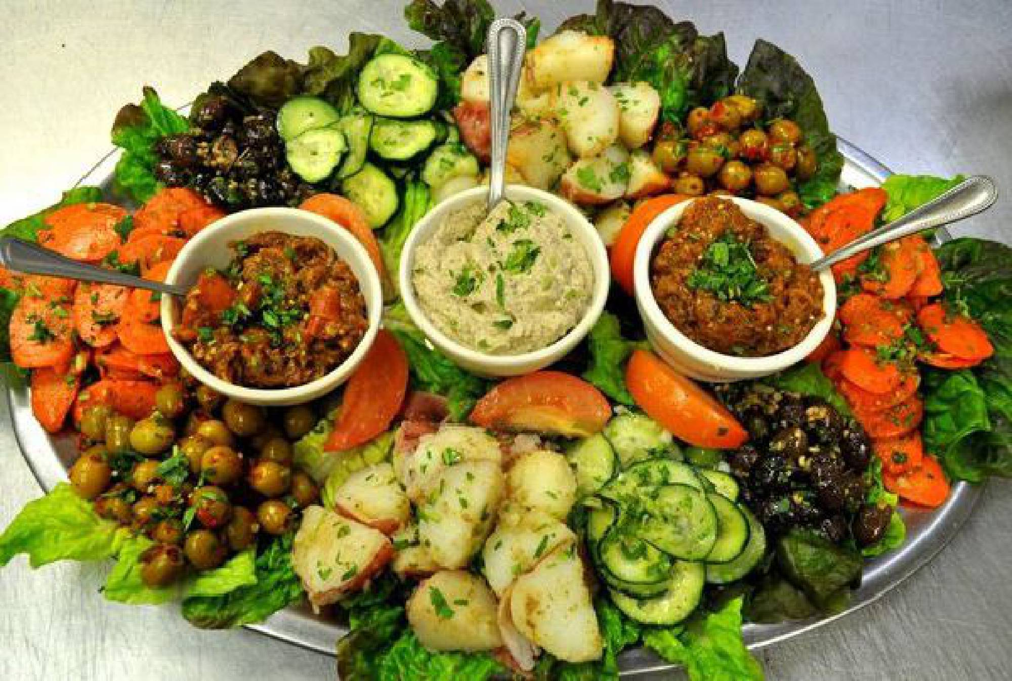 moroccan-side-dishes-recipes-Moroccan Salads